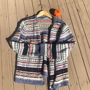 Vintage Winter Cardigan